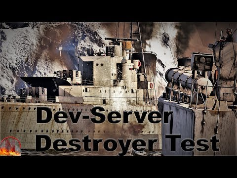 War Thunder || Soviet and British Destroyers on the Dev Server