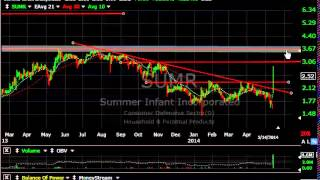 IRM, SUMR, FEIC, JEC - Stock Charts - Harry Boxer, TheTechTrader.com