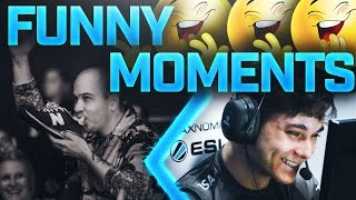 CS:GO - FUNNY TWITCH AND PRO MOMENTS (AUSSIE CROWD HYPE)