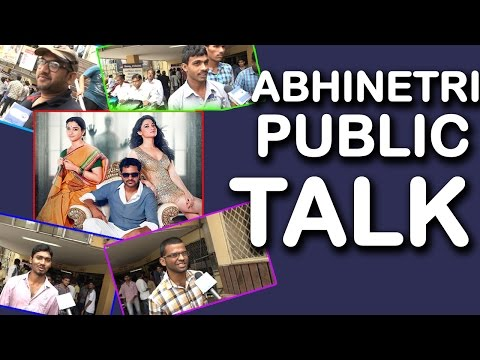 Abhinetri Movie Public Talk | Tamanna |...