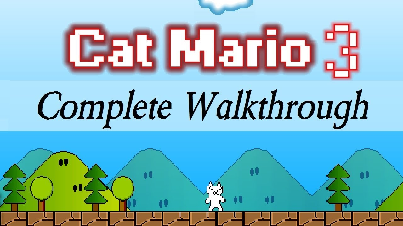 Cat Mario Unblocked - Play now Cat Mario At