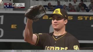 MLB The Show 19 (Boston Red Sox Season) Game #130 - BOS @ SD