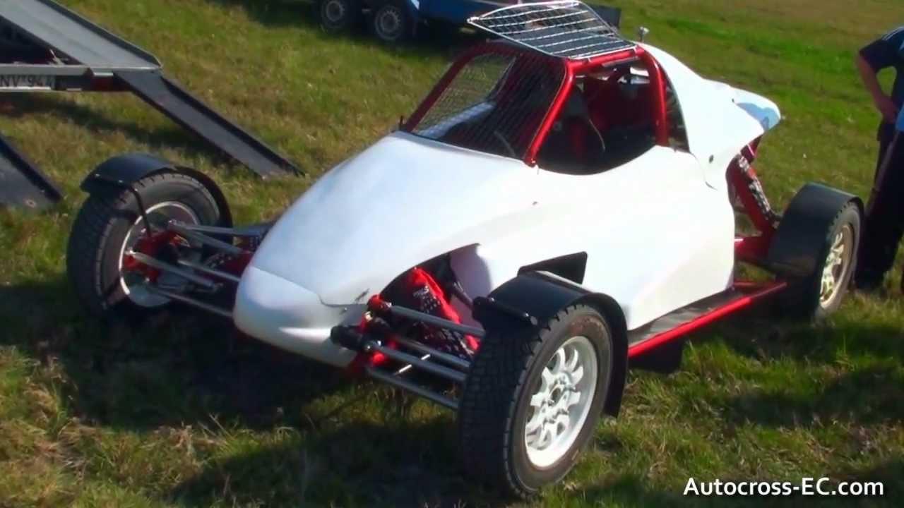 Abraham Karoly Autocross Super Buggy Ford Test Domsod