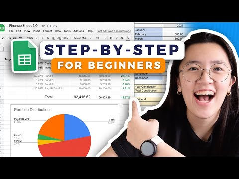 📊 How to Track Expenses & Investments in Google Sheets 2021 / Easy Step-by-Step Spreadsheet Tutorial