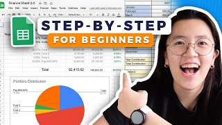 📊 How to Track Expenses & Investments in Google Sheets 2021 / Easy Step-by-Step Spreadsheet Tutorial screenshot 5