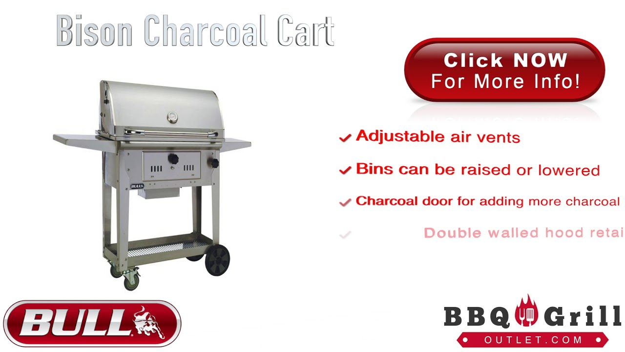 Bbqgrilloutlet Bull Bison Bbq Grill Cart