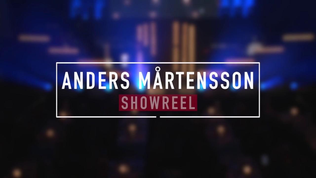 Anders Mårtensson - Showreel