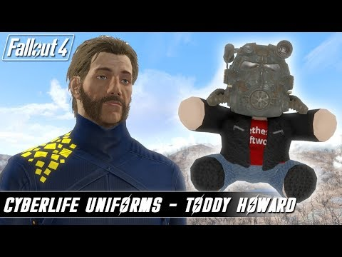 Fallout 4 Mods - Cyberlife Suits and Teddy Howard! thumbnail