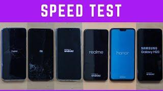 Redmi Note 7 vs Note 6 Pro vs Samsung M20 (M30) vs Real Me U1 vs Asus Zenfone Max Pro M2 vs Honor 8x