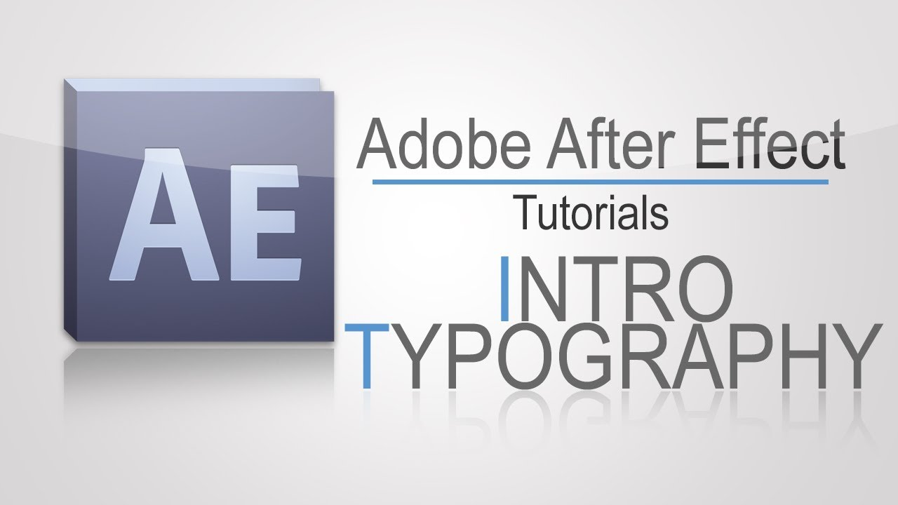 Adobe After Effect Tutorial | Easy Intro (typography)