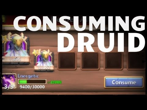 Properly Consuming Two High Level Druids - Castle Clash D136