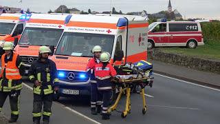Unfall: Jeep Überschlag sich auf der L 119 zwischen Kostheim und Hochheim am 13.10.2017