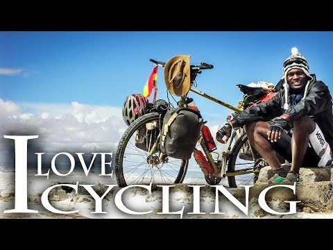 I travel by bike (cycling documentary) Cycling adventure around the world