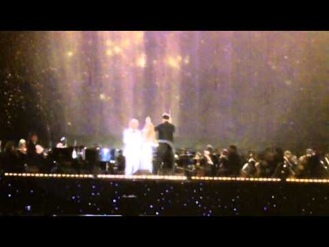 """The Prayer"" - Andrea Bocelli With Céline Dion. Central Park New York. Sept 15, 2011"