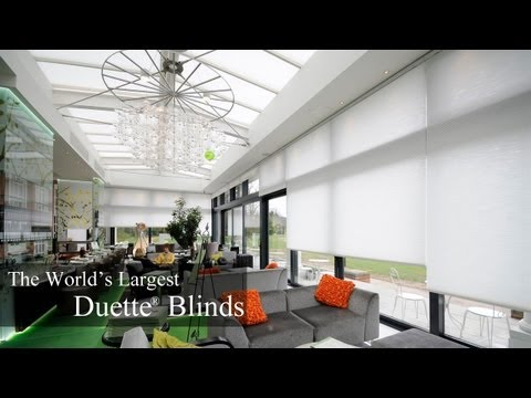 The World's Largest Duette® Blinds at Cannizaro House