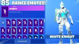 *NEW* SEASON 7 ICE KNIGHT SKIN! Concept SHOWCASE! (customized Skin) Fortnite Battle Royale