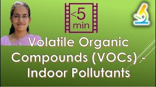Volatile Organic Compounds (VOCs) - Indoor Pollutants (Environment - Pollution)