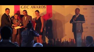 GEC Awards 2014, at The Address Montgomerie, Dubai