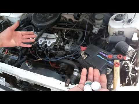 Скорый быстрый ремонт потёкших заглушек двигателя.