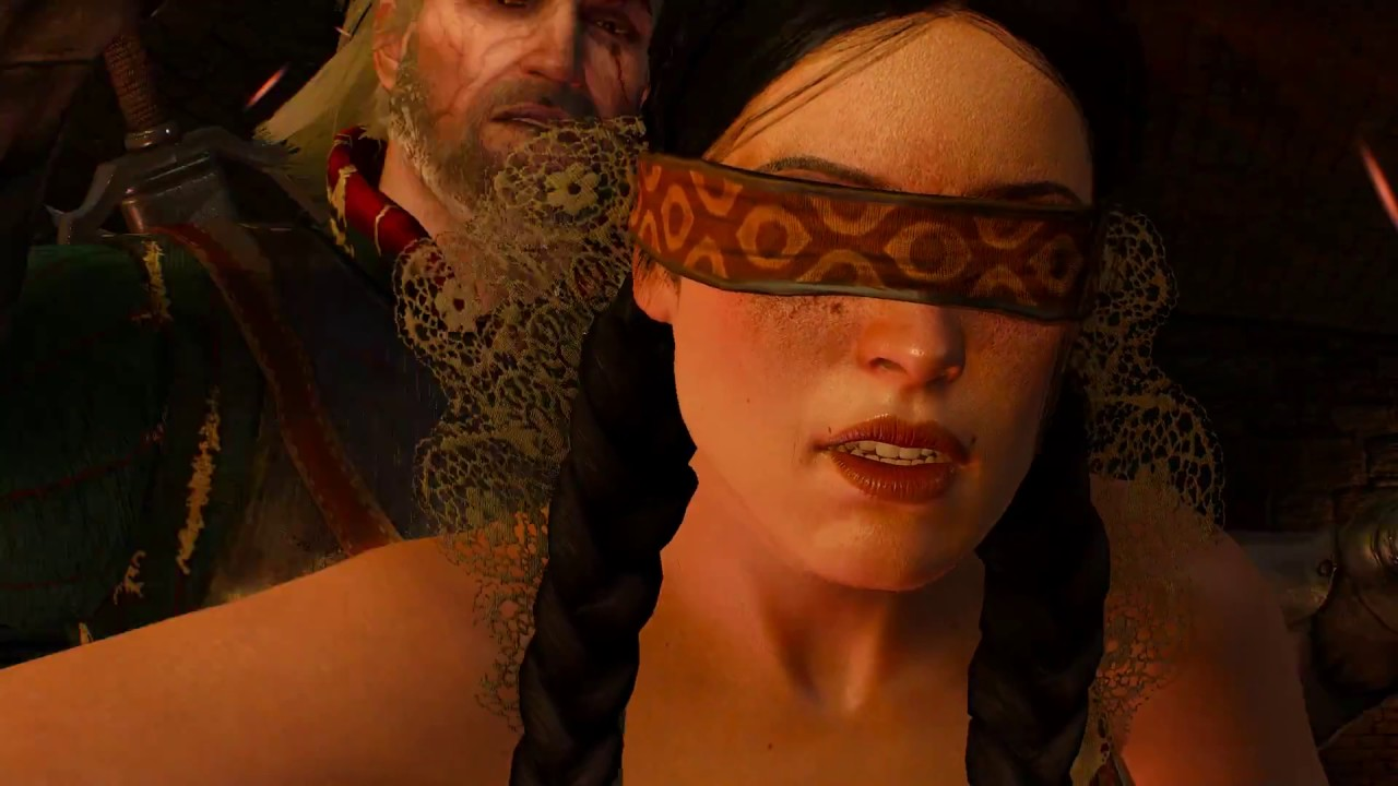 The Witcher 3 Catching Philippa Eilhart At Dijkstra Bathhouse