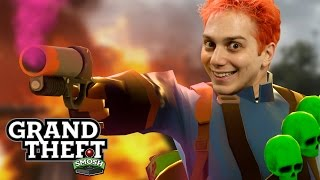 EPIC FLARE FIGHT (Grand Theft Smosh)