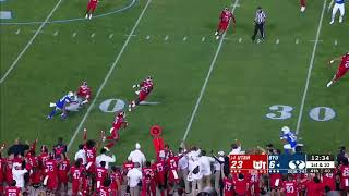 Utah Seals Game With Late Interception Vs BYU//College Football Highlights 2019-2020