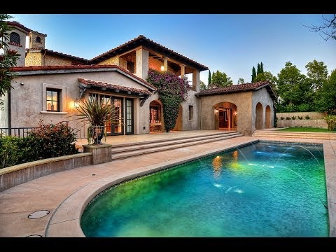 FOR SALE: Aerial view of Villa San Biagio in Shady Canyon - Irvine, CA 92603