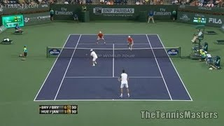 Ivan Dodig Marcelo Melo vs Treat Huey Dominic Inglot US Open Highlights 04.09.13