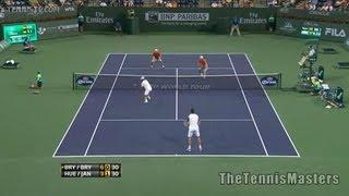 Ivan Dodig Marcelo Melo vs Treat Huey Dominic Inglot US Open Highlights 04.09.13