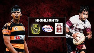 Match Highlights - Science College v D.S.Senanayake College Schools Rugby Plate