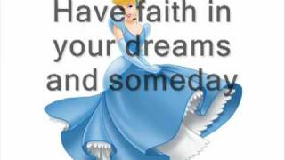 Karaoke song Disney Cinderella   A Dream Is A Wish Your Heart Makes recorded by mimma55