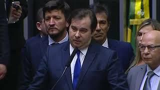 Reforma da Previdência - Rodrigo Maia defende o respeito às instituições