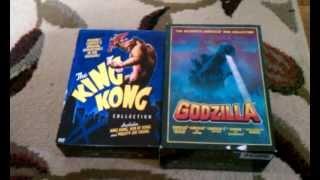 04/15/13 MY GODZILLA & KING KONG DVD COLLECTION