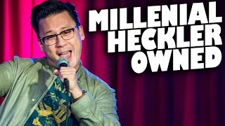 Millennial Heckler Gets What He Deserves | LA, CA (17+ only)
