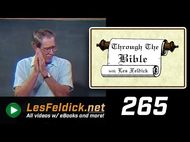 [ 265 ] Les Feldick [ Book 23 - Lesson 1 - Part 1 ] There is Therefore Now No Condemnation |a