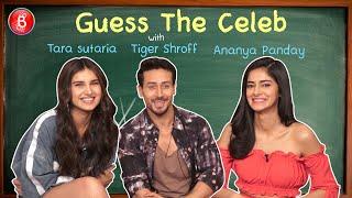 Download lagu 'Guess The Celeb': Ananya Panday's CRAZY Acting Skills Tested On Tiger Shroff & Tara Sutaria
