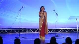 Jennifer Franklin Lall Singing Live Courtesy The Voice Asia Roadshow UK.wmv