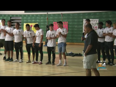 Students Rally For Varela Vipers Soccer Team