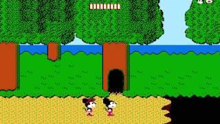 【FC】 ミッキーマウス 不思議の国の大冒険 クリア