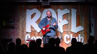 Hotel Hell - Ashley Frieze, live at ROFL Comedy Club