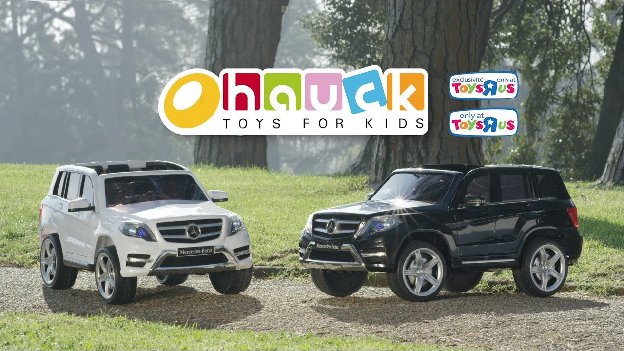 Mercedes Glk Electric Ride On Only At Toys R Us Exclusivite Toys