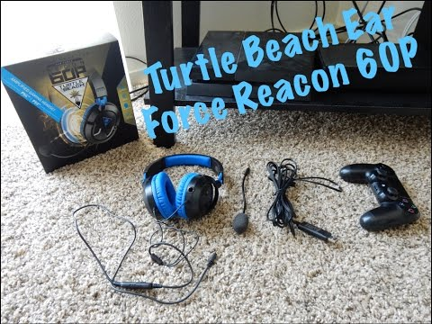 Turtle Beach Ear Force Recon 60P Unboxing & Review 2018