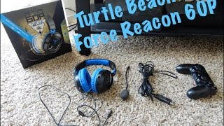 turtle beach ear force recon 60p unboxing review