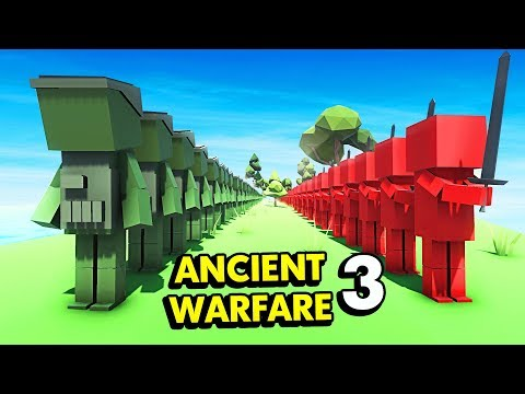 NEW INFINITE ZOMBIE SPAWNER IN ANCIENT WARFARE 3 (Ancient Warfare 3 Funny Gameplay)
