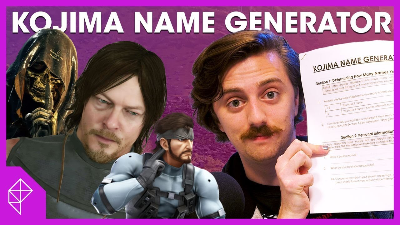 Kojima Name Generator - Find what name you'd have in Death