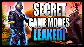 Fortnite: NOUVEAU jeu secret Modes LEAKED!