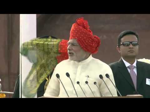 PM on Independence Day: I am an outsider to Delhi