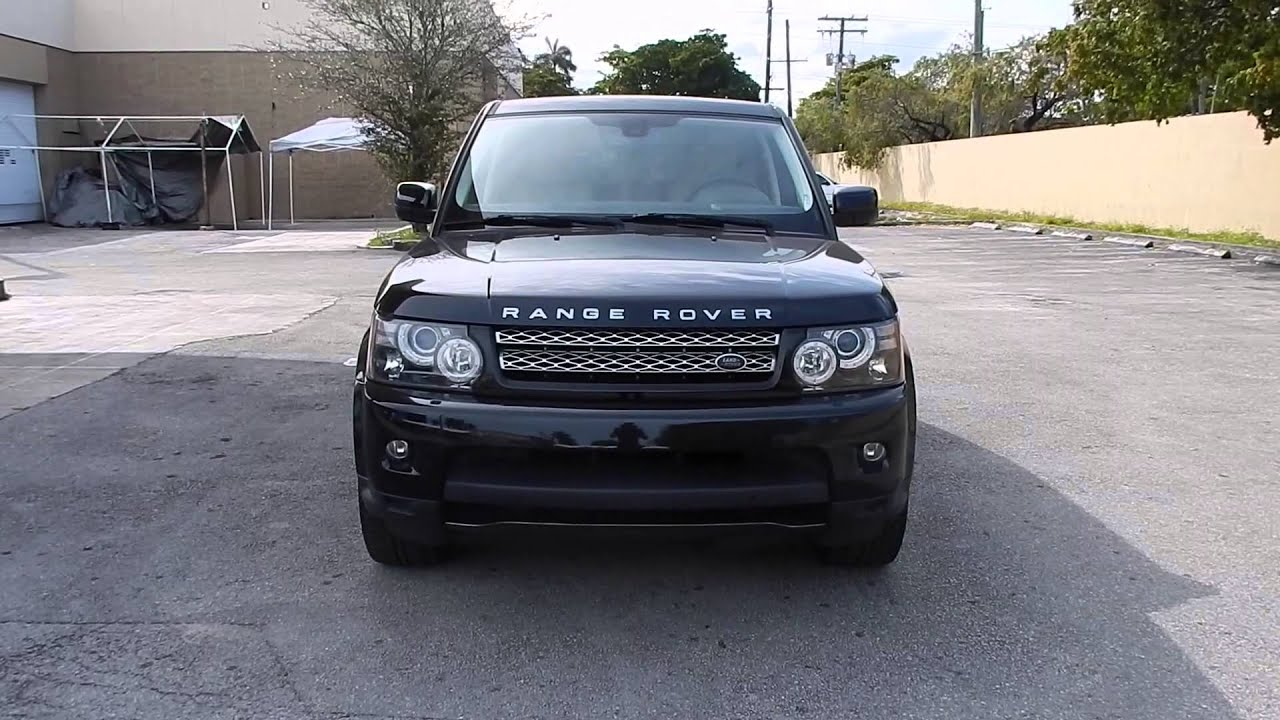 2012 Land Rover Range Rover Sport HSE Luxury At Eurocar
