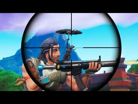 Most LUCKIEST Moments I've Ever Seen In Fortnite