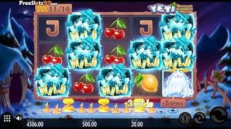 Yeti Battle Of Greenhat Peak Slot BONUS GAME